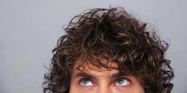 Erkek Kıvırcık Saç Modelleri