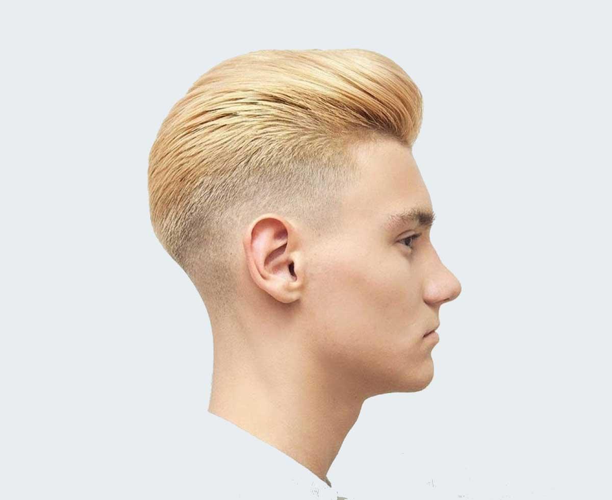 Geriye Doğru Saç Stili