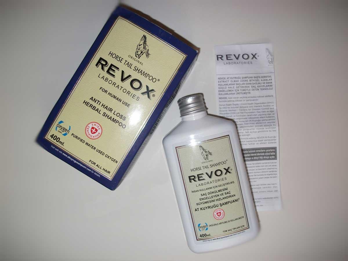 Revox Saç Dökülmesine Karşı Şampuan Nedir?